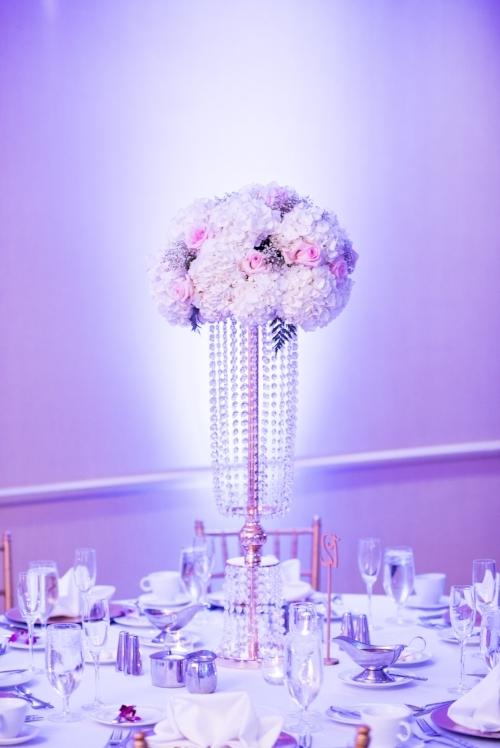 Clarity and Class Glamorous Fairytale Wedding