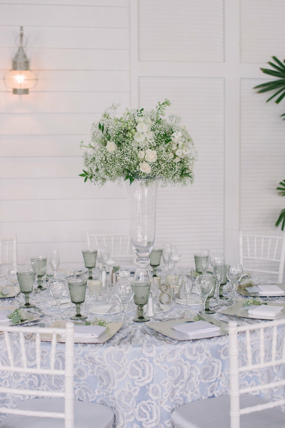 Clarity and Class Nuage Linens Designer Wedding