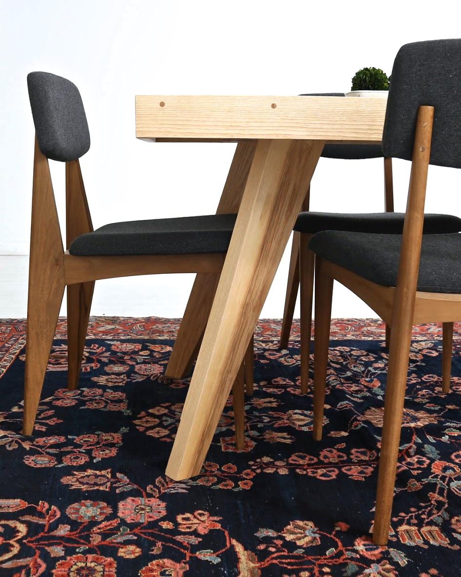 raleigh dinning table, north carolina dinning table, modern dinning table, raleigh custom furniture