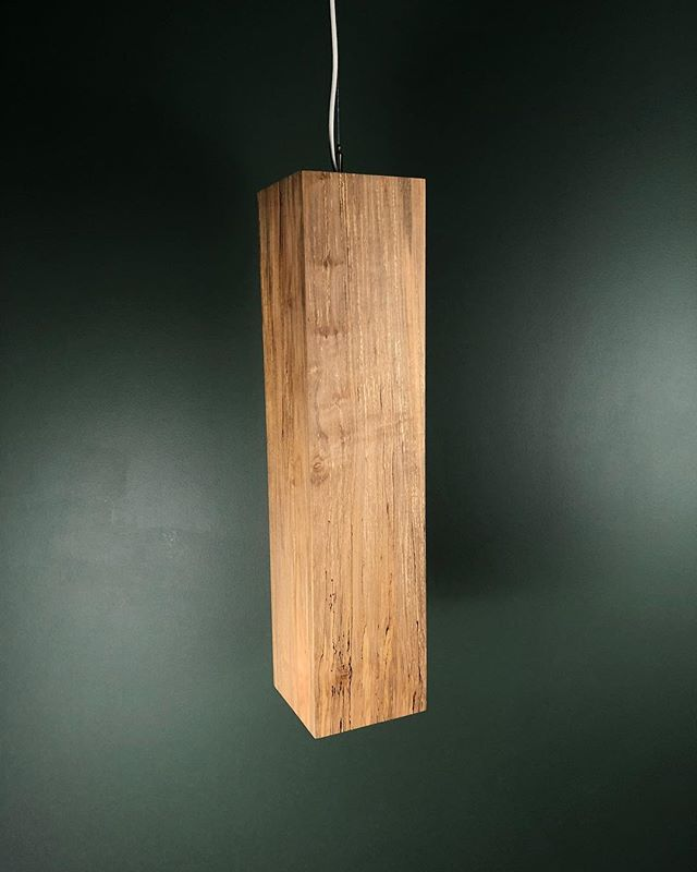 The batch of lumber we used on the custom Kjekk Pendants for the @nostudiosmke and @everickbrowndesign project was sourced from a small local sawmill south of Raleigh, NC.  We wanted a lot of variation in the grain in order to bring a sense of texture and movement to this very simple shape. Spalted/ambrosia maple was a great choice. The variation in color, direction, and texture resulted in something striking but warm and inviting. Photos of finished space to come soon!  We were lucky enough to meet @everickbrowndesign while exhibiting at @millcollective last year, so head on down to @plantseven this weekend to see a bunch of talented makers and designers doing their thing.  #lightingdesign #hotellobbydesign #handmadelighting #woodenlighting #spaltedmaple #raleighnc #milwaukee #sustainablefurniture #hardwood #interiordesign #design