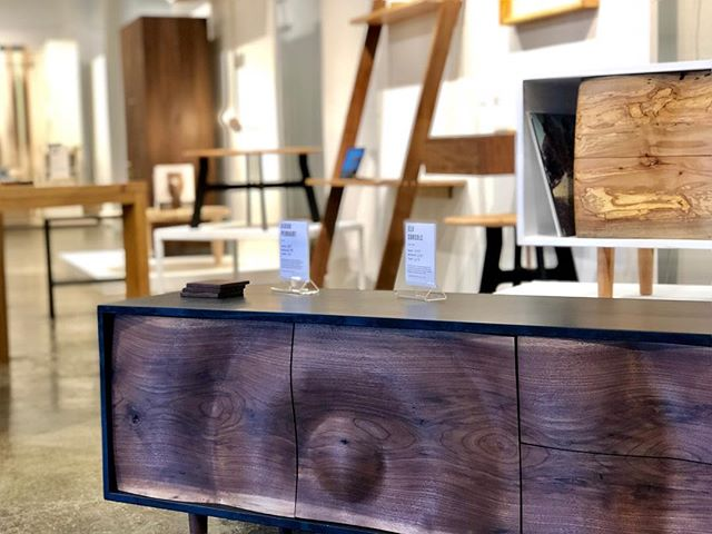 Come see what we have to offer alongside some amazing makers and designers here at @millcollective  @meredithhartfurniture  @radvalleydesigns  @adamdavisfurniture  @furnitureisart  @elijahleed  @parkinsonfurniture  @raleighslabs  #worldofinteriors #moderndesign #makehomeyours #prettylittleinteriors #highpointfurnituremarket #smallspacesquad #currentdesignsituation #decorinspo