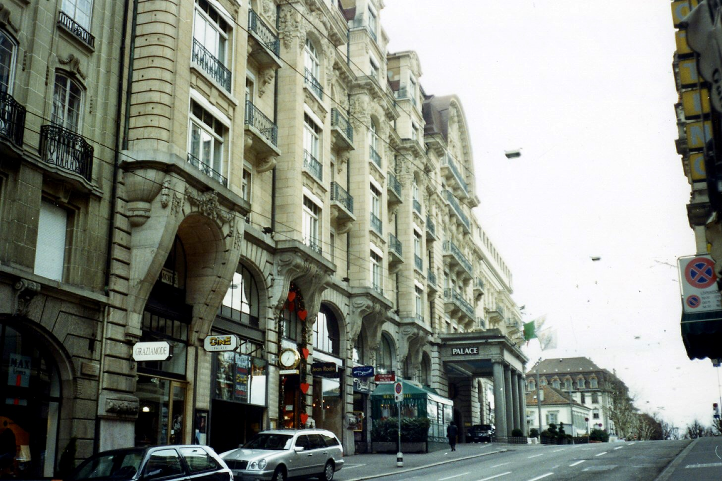 The Lausanne Palace Hotel
