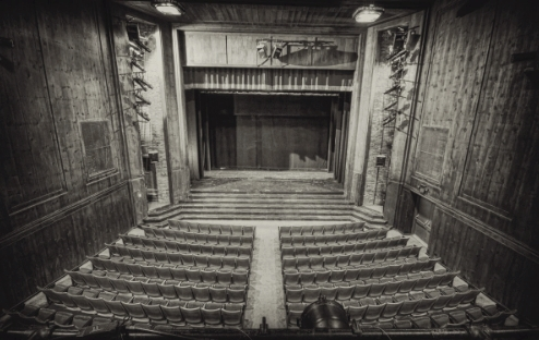 Drury Theater, home of the first permanent theater company in the U.S.
