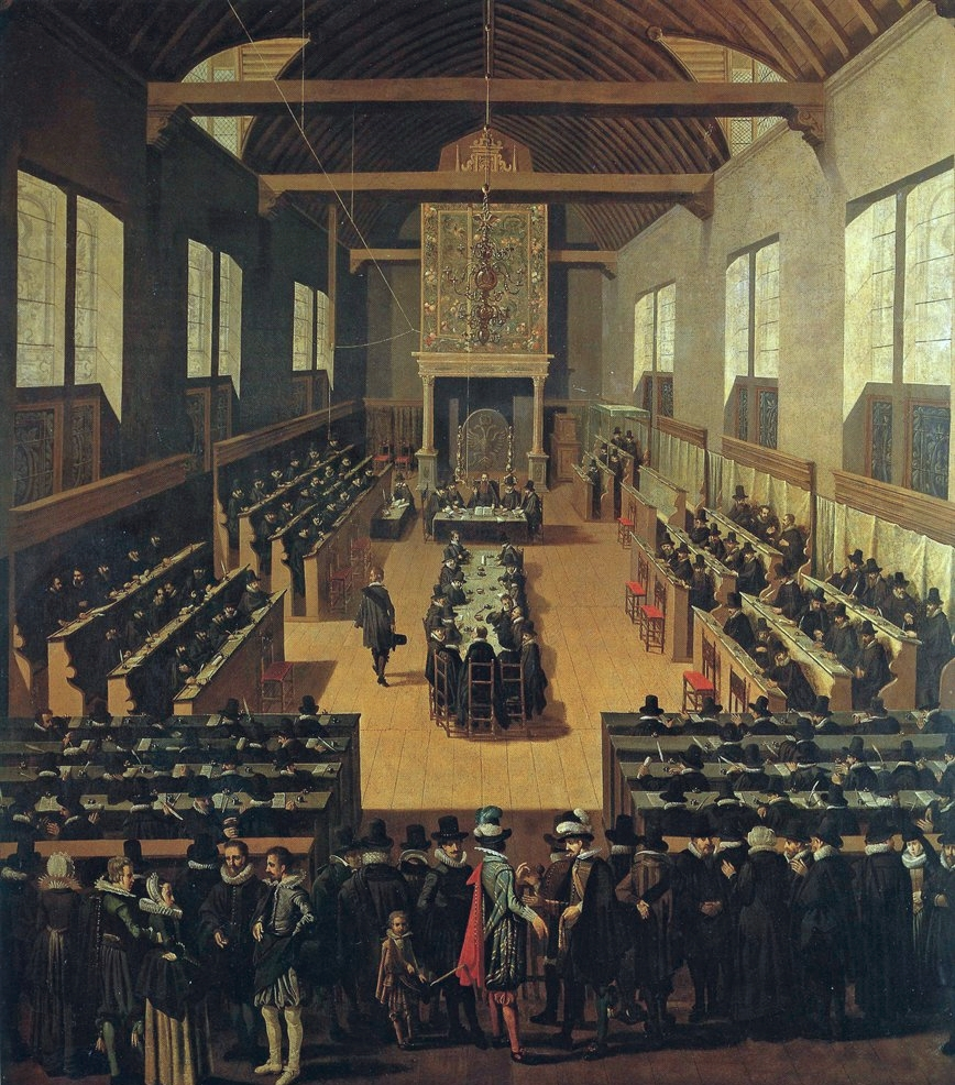 The Synod of Dort, from whence come the Canons of Dort defending the five controverted points against the Arminians.