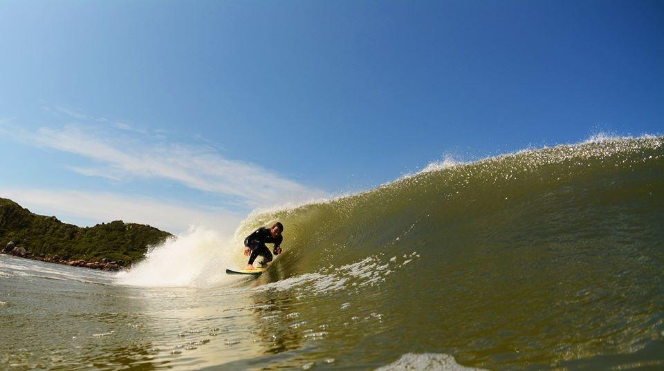 Duas de minhas primeiras fotos de surf. A de cima, na Praia Brava e essa na Guarda do Embaú.