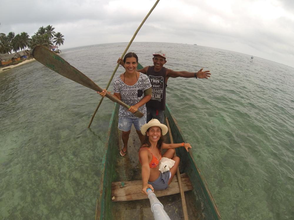 Emilio, nosso querido kuna barqueiro que fazia tudo que a gente pedia! Há!