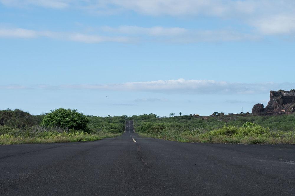 Caminho para Loberia.