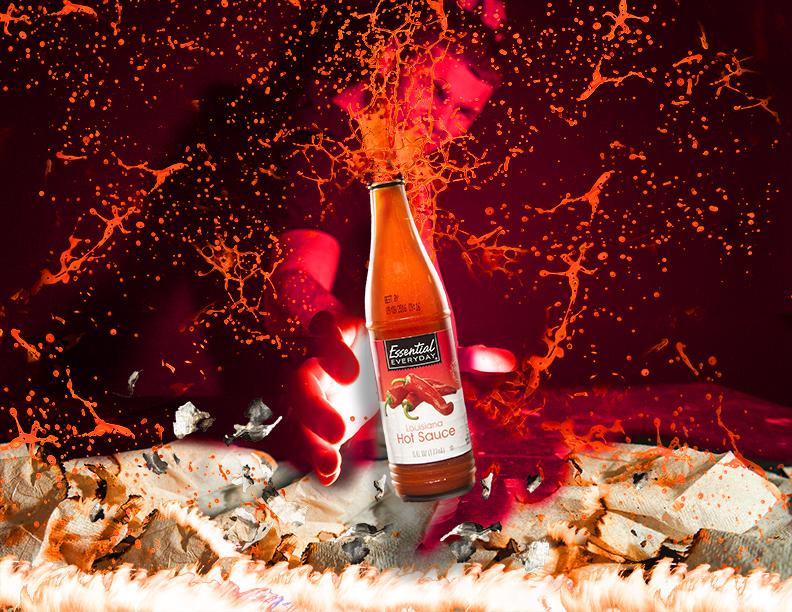 "<alt=""Essentail Hot sauce EXPLODING"">"