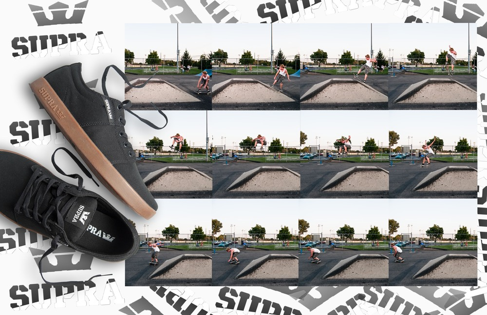 Supra Shoe Advertising