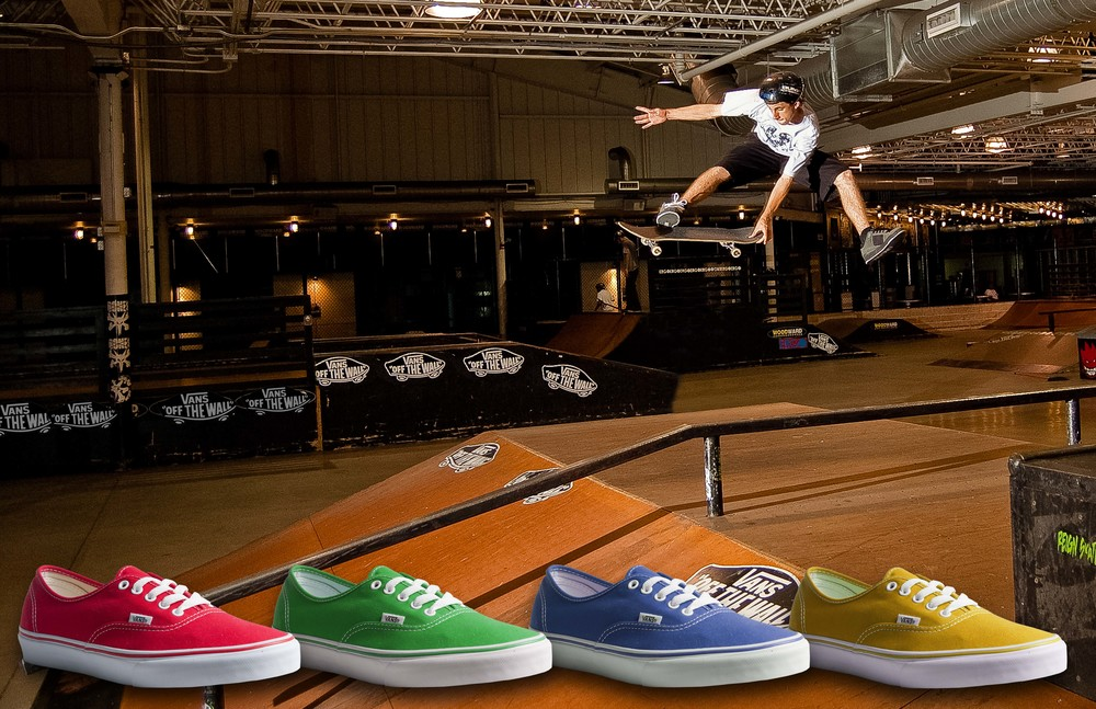 Vans Color Change SkateBoard Advertising