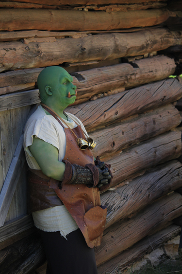 AN ORC IN THE SHADE