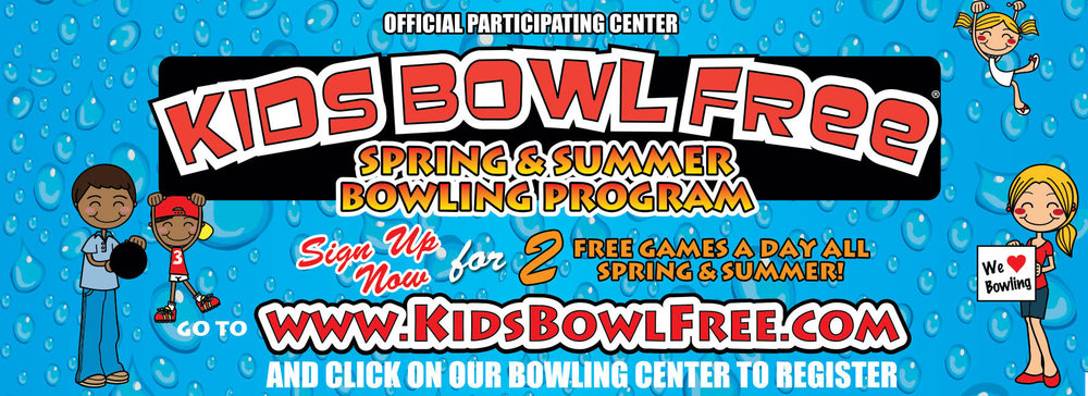 KIDS BOWL FREE @ Park Place Lanes - SIGN UP NOW