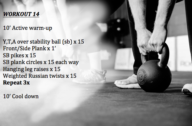 workout 14