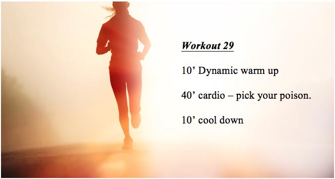 Workout 29