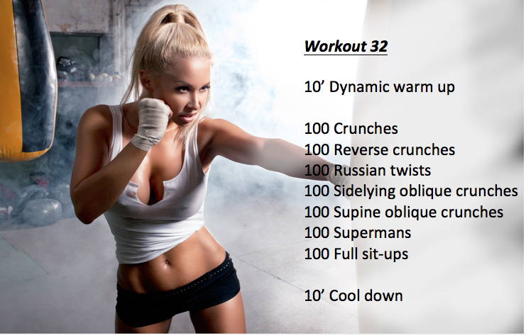 workout 32