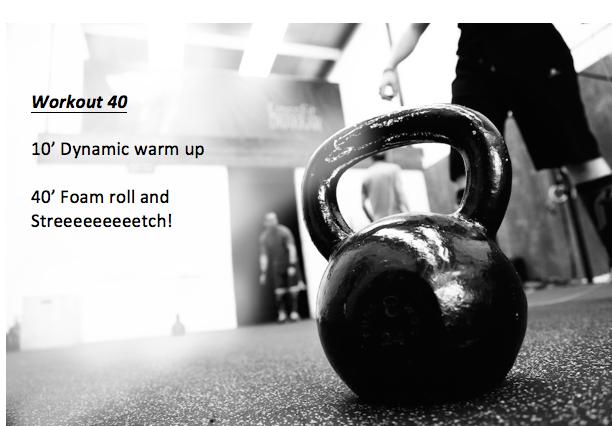 workout 40
