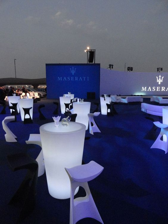 Lit furniture_Maserati Event