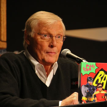 Adam West -- The Original Batman / image via newyorkcomiccon.com