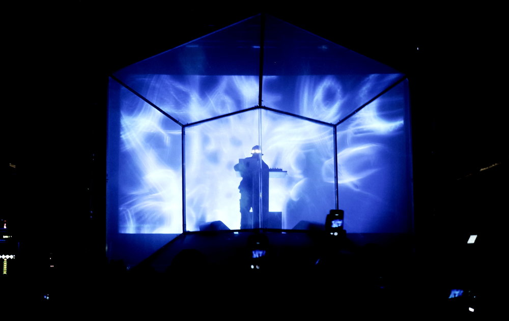 Light projection stage design