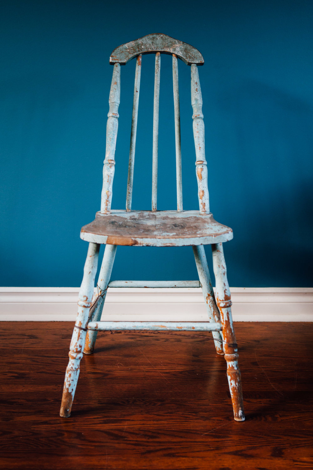 Antique Distressed Chair