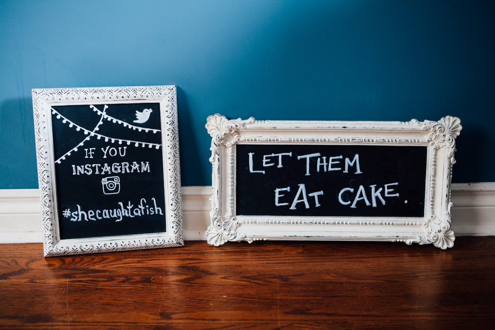 "Distressed Vintage Framed Chalkboards - 10x12"" and 9x18"""