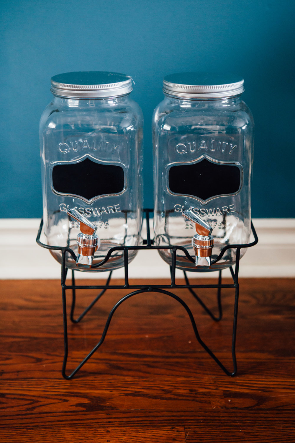 3.3L Mason Jar Juice Containers