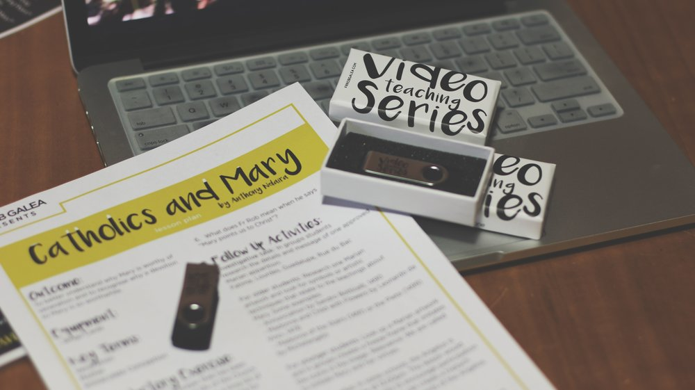 A SERIES OF ENGAGING SHORT VIDEOS AND LESSON PLANS TO TEACH THE FAITH AND LIFE ISSUES AT SCHOOL, YOUTH GROUP OR FOR PERSONAL STUDY.