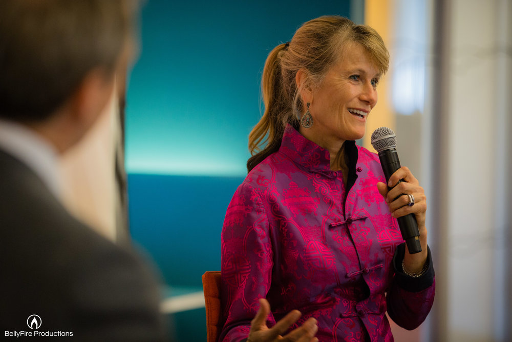 Jacqueline Novogratz at The HOW Institute for Society