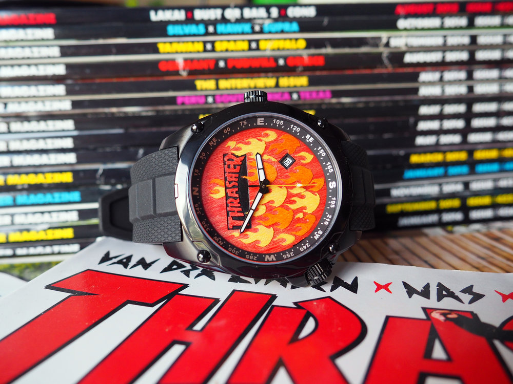 thrasher skateboard watch