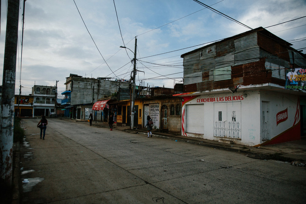 The Santa Isabella II neighborhood of Villa Nueva, Guatemala