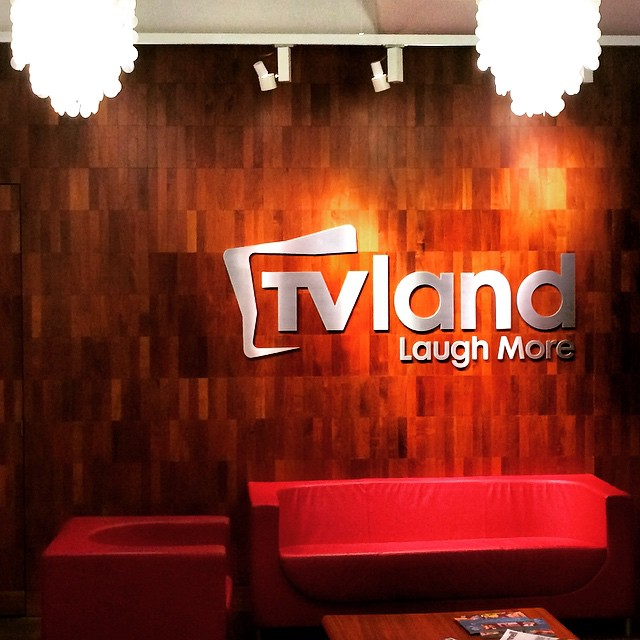 Really great meeting with the TV land folks.