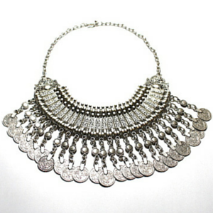 sneakers and pearls, short coin necklace, Turkish necklaces, gypsy necklace, what to wear now, trending now..png