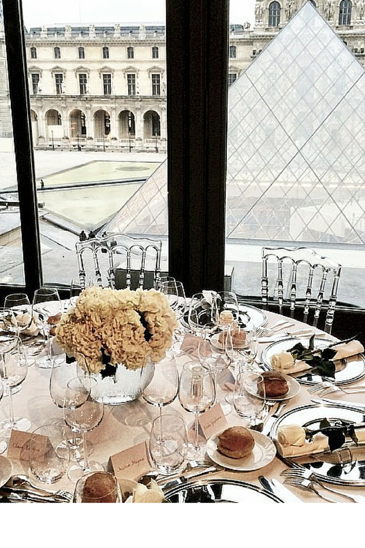 MEAL AT THE LOUVRE