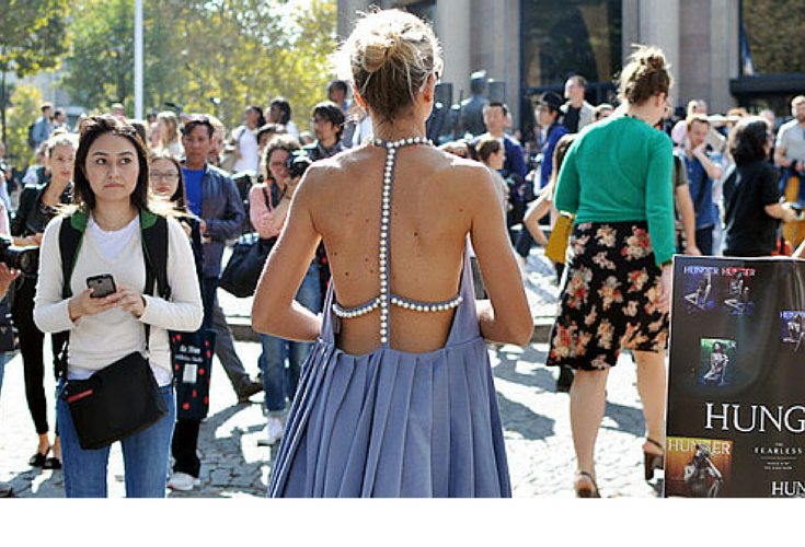 sneakers and pearls, streetstyle,backless dress, fashion,trending on now,fall in whatever.png