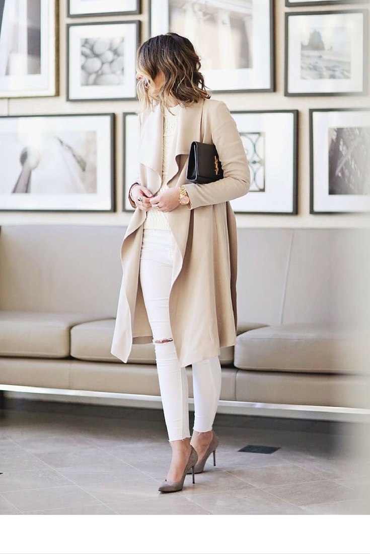 sneakers and pearls, street style, neutral hues for an elegant look at any time of the day, trending now, misszeit.png