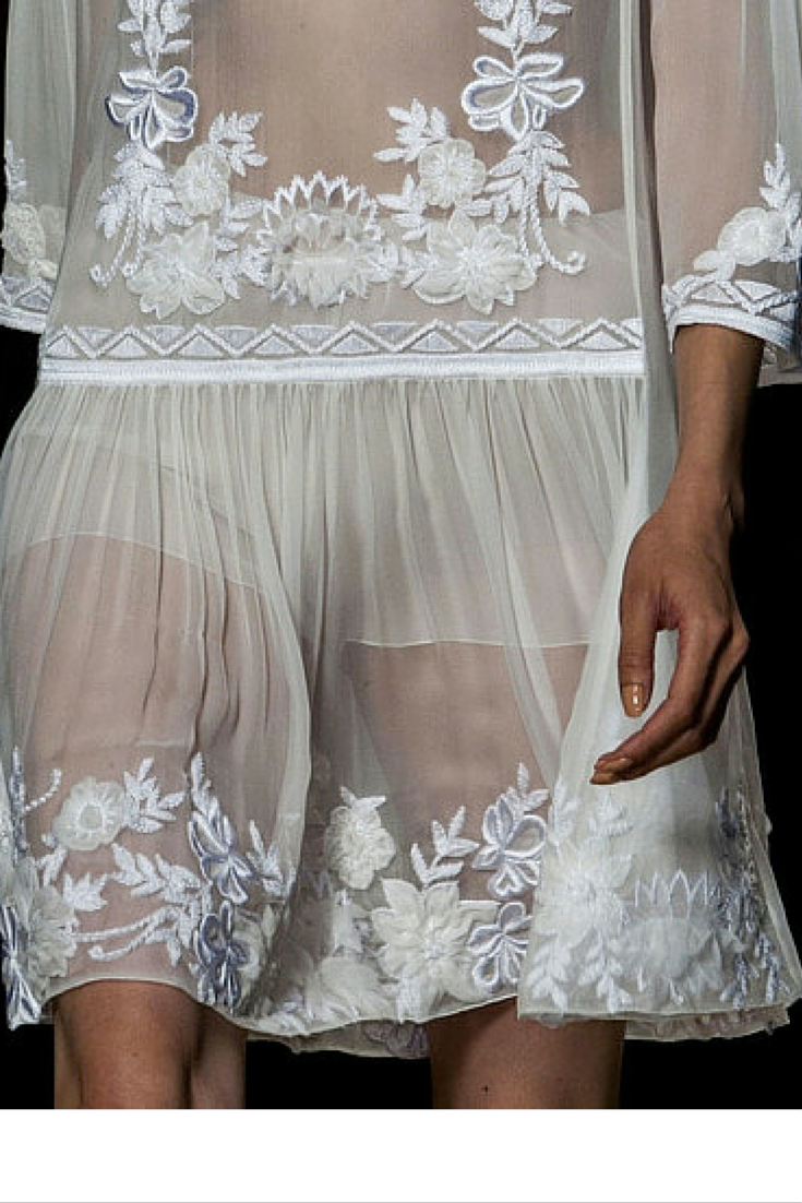 sneakers and pearls, white sheer dress, trending now, runway, whatareyoulookingatbitch.png