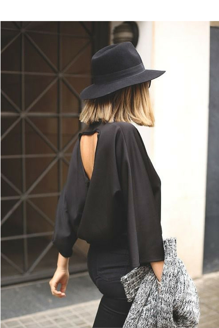 sneakers and pearls, take this black look from day to night, trending now.png