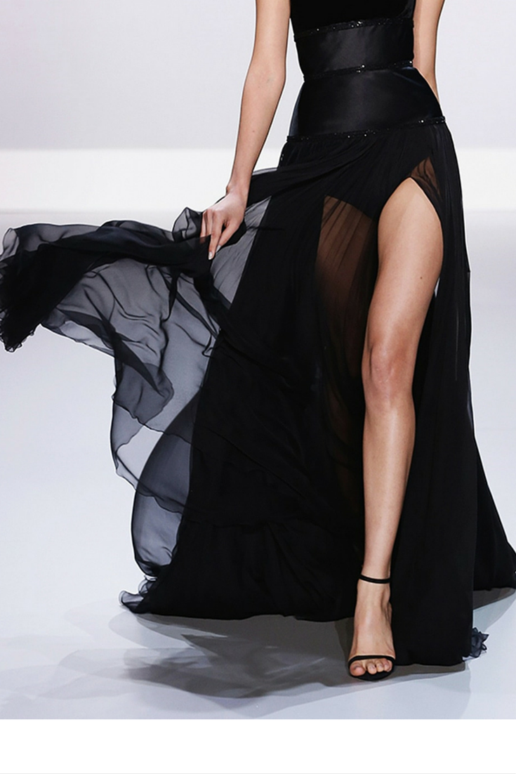sneakers and pearls, runway look, sheer dresses with cool underwear, trending now, misszeit.png