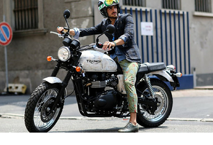 sneakers and pearls, street style, cool men on bikes can be really stylish, trending now, lovely--delight.png