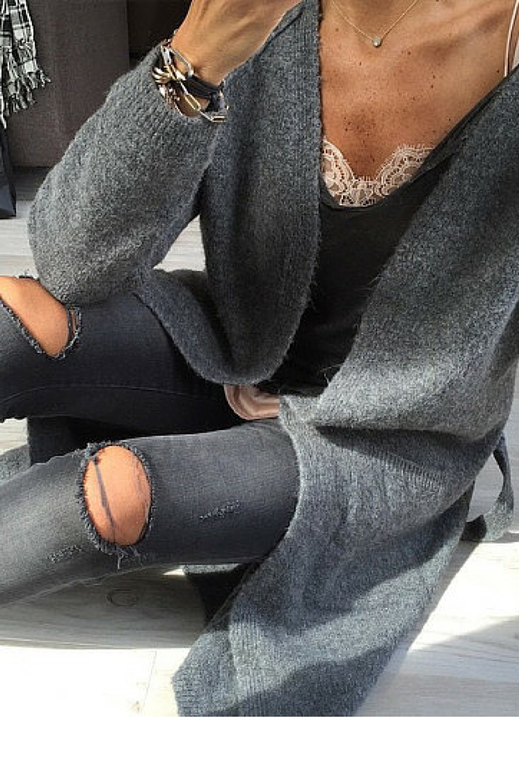 sneakers and pearls, fifty shades of grey, team your lace camisole with a low cut tee and throw a cardigan over for a casual yet sexy look, trending now, lovely--delight.png