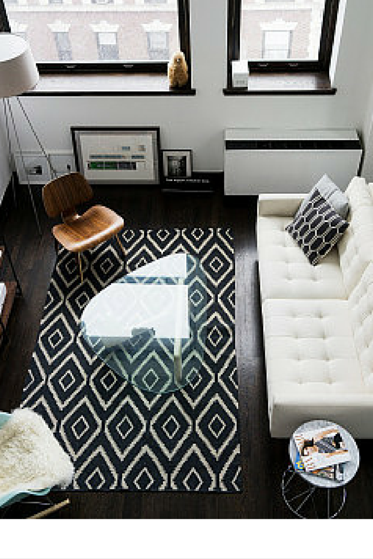 sneakers and pearls, black and white small spaces that look bigger by smart rearrangement of the furniture, smart living, fiveseventeen.png