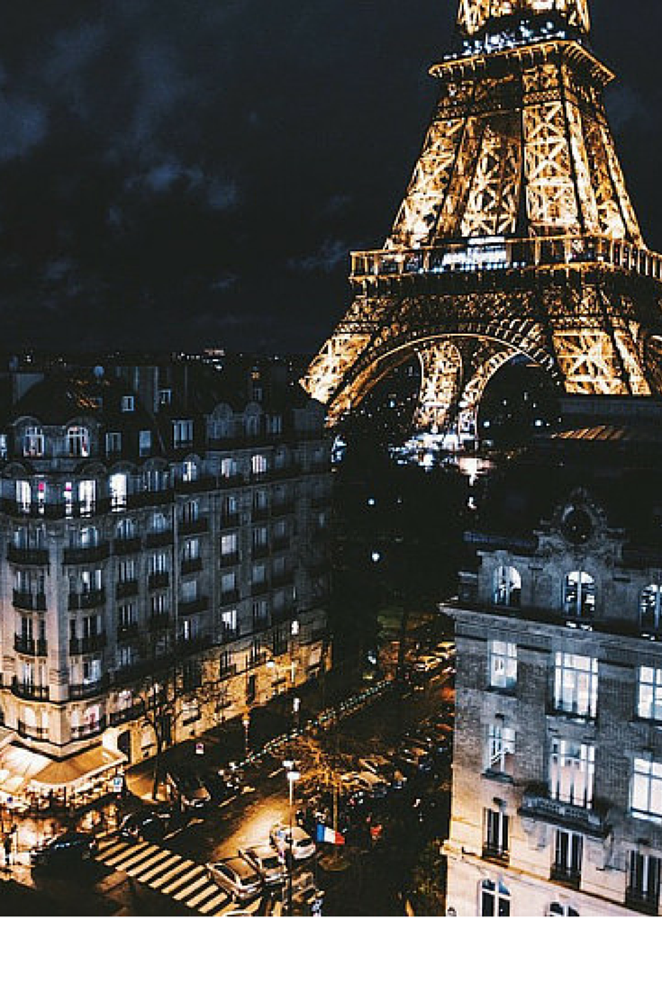sneakers and pearls, Paris at night, always trending, glamorgorgeous.png