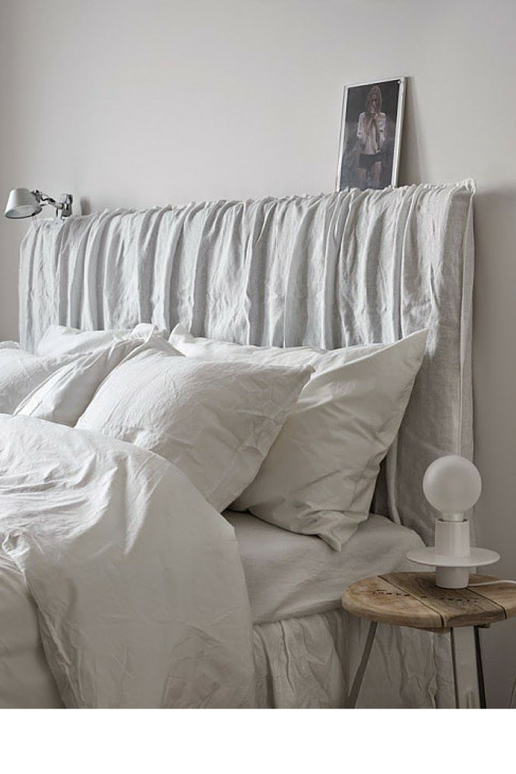 sneakers and pearls, modern rooms, white bedlinen, trending now, la cool et chic.png