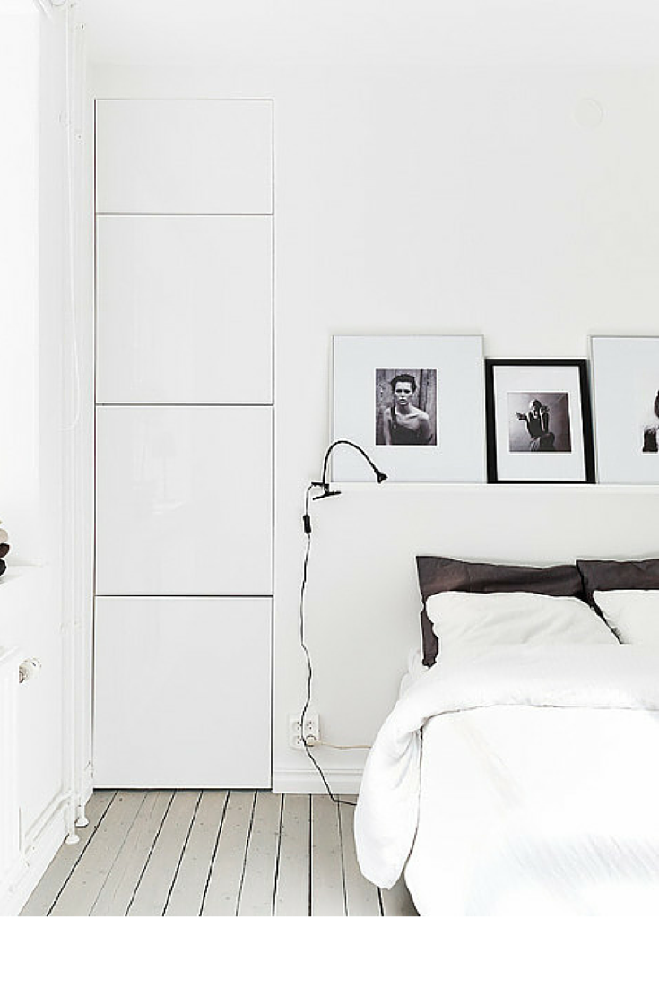 sneakers and pearls, black and white rooms, white bedlinen, trending now, la cool et chic.png