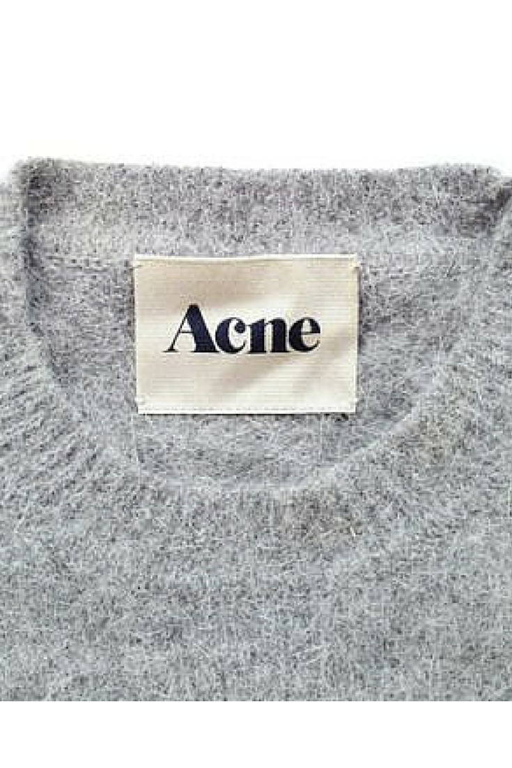sneakers and pearls, Acne grey jumper, trending now.png