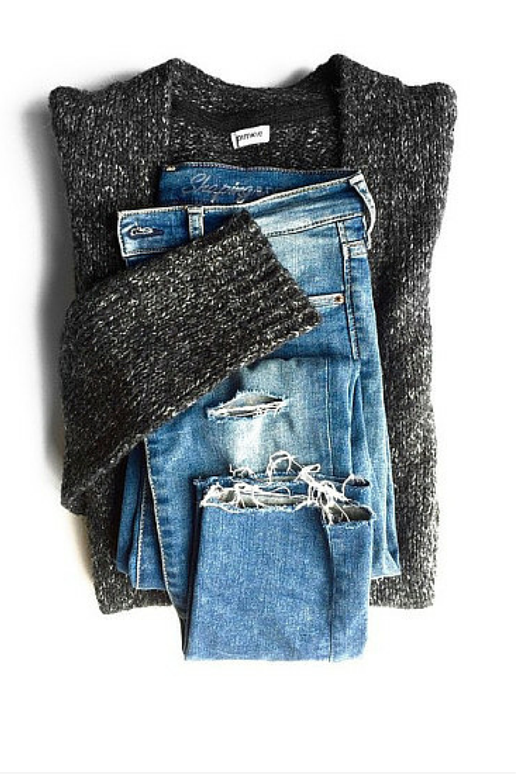 sneakers and pearls, grey jumper, ripped jeans, winter style, effortless, trending now, fashion, fall in whatever.png