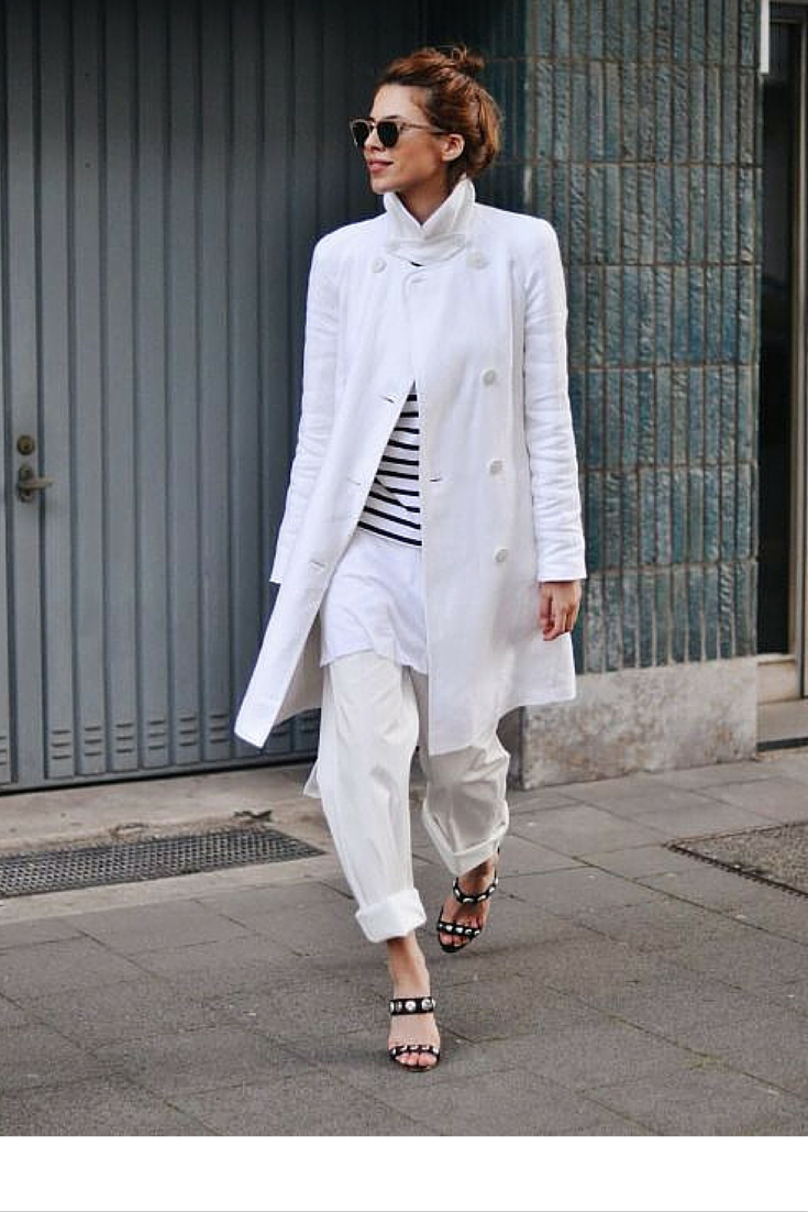 sneakers and pearls, the art of layering, white on white with small colour hues, trending now.png
