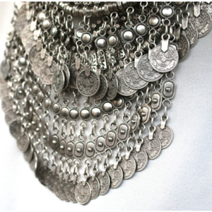 sneakers and pearls, double coin necklace, Turkish necklaces, gypsy necklace, what to wear now, trending now.png