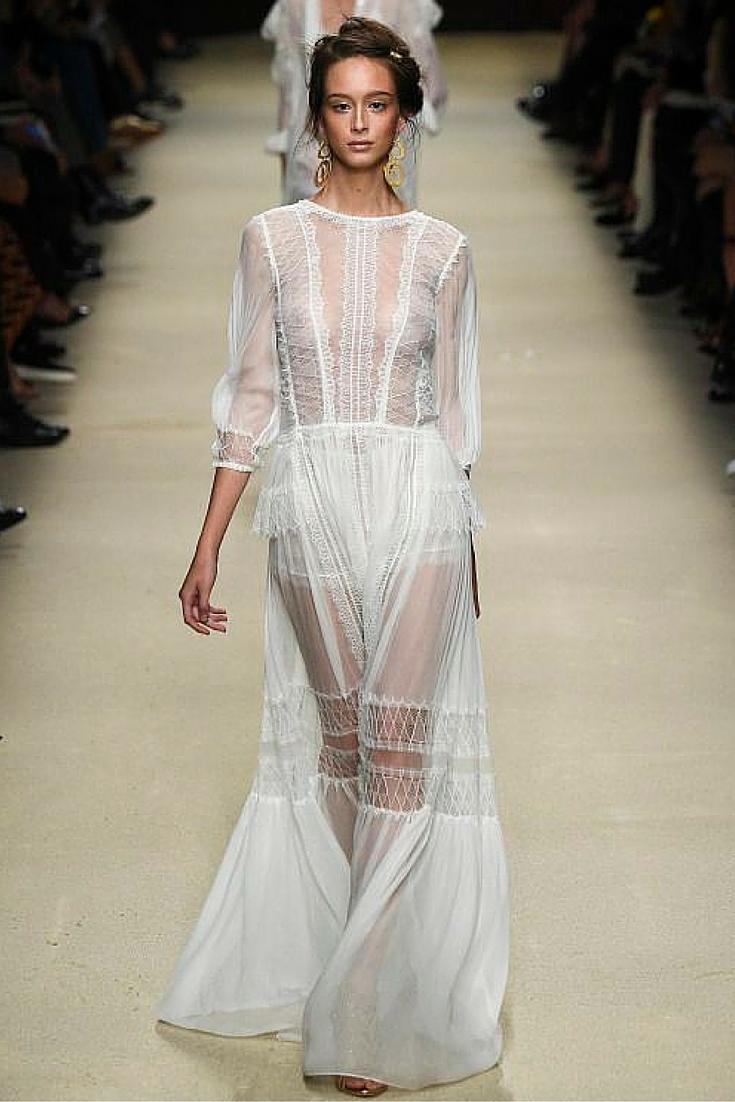 sneakers and pearls, alberta ferretti, white romantic see through dress, runway, trending now, u la la land.jpg