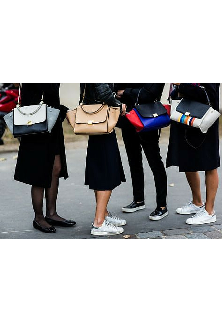 sneakers and pearls, street style, minimal look,celine bags and sneakers, trending now.jpg